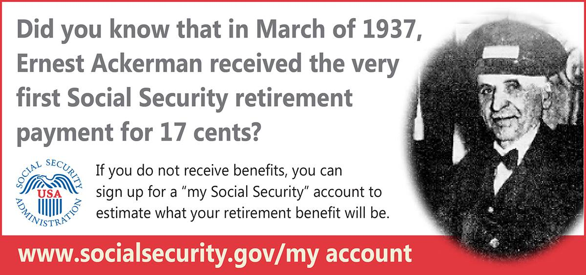 signing up for social security